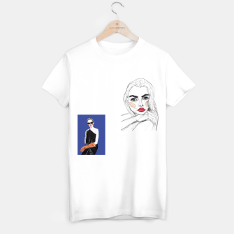 Thumbnail image of Fashion Illustration Collage T-shirt regular, Live Heroes