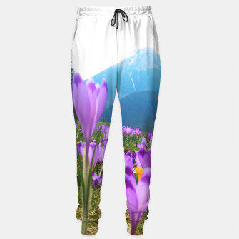 Thumbnail image of Mountain Flower View Sweatpants, Live Heroes