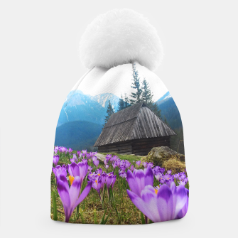Thumbnail image of Mountain Flower View Beanie, Live Heroes