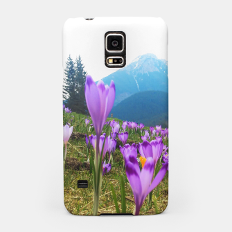 Thumbnail image of Mountain Flower View Samsung Case, Live Heroes