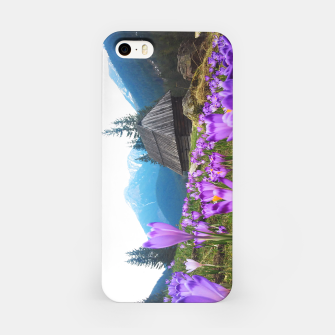 Thumbnail image of Mountain Flower View iPhone Case, Live Heroes