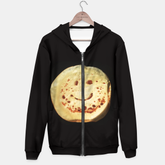 Thumbnail image of Yummy Smiley Pancake Hoodie, Live Heroes