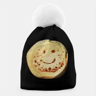 Thumbnail image of Yummy Positive Pancake Beanie, Live Heroes