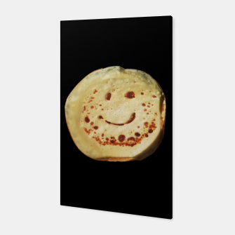 Thumbnail image of Yummy Positive Pancake Canvas, Live Heroes
