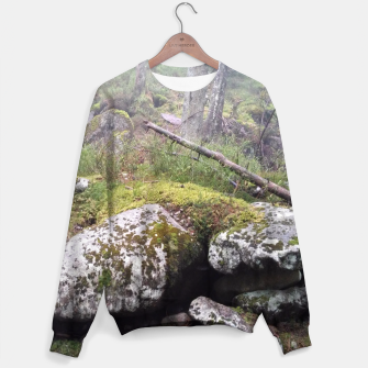 Thumbnail image of Fog Forest Sweater, Live Heroes