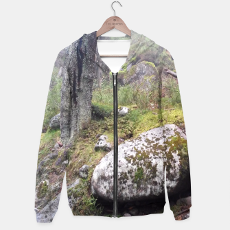 Thumbnail image of Fog Forest Hoodie, Live Heroes