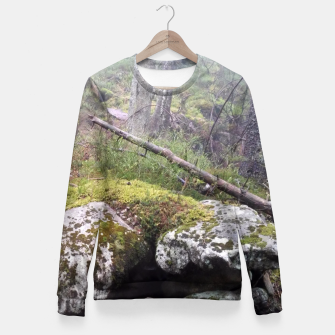 Thumbnail image of Fog Forest Fitted Waist Sweater, Live Heroes