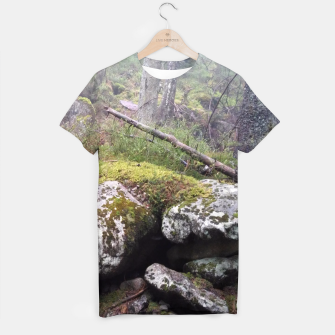 Thumbnail image of Fog Forest T-shirt, Live Heroes