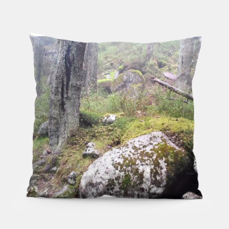 Thumbnail image of Fog Forest Pillow, Live Heroes