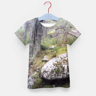 Thumbnail image of Fog Forest Kid's T-shirt, Live Heroes