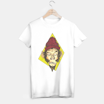Miniatur Monkey King Camiseta Regular, Live Heroes