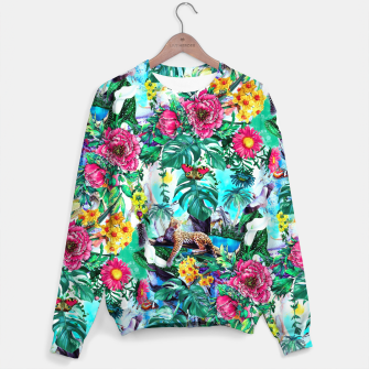 Thumbnail image of Tropical Jungle II Sweater, Live Heroes
