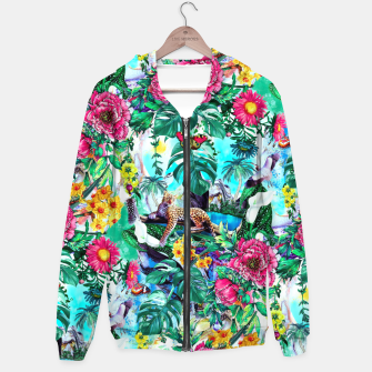 Thumbnail image of Tropical Jungle II Hoodie, Live Heroes