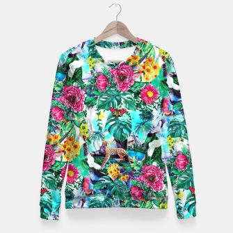 Imagen en miniatura de Tropical Jungle II Fitted Waist Sweater, Live Heroes