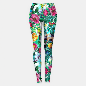 Imagen en miniatura de Tropical Jungle II Leggings, Live Heroes