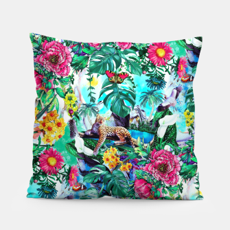 Thumbnail image of Tropical Jungle II Pillow, Live Heroes