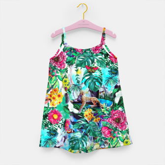 Thumbnail image of Tropical Jungle II Girl's Dress, Live Heroes