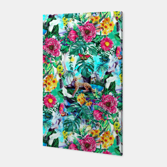Miniatur Tropical Jungle II Canvas, Live Heroes