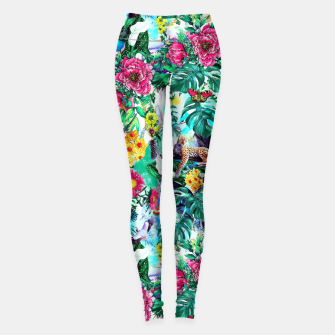Thumbnail image of Tropical Jungle II Leggings, Live Heroes