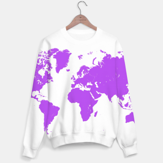 Thumbnail image of  violet map of the world Bluza, Live Heroes