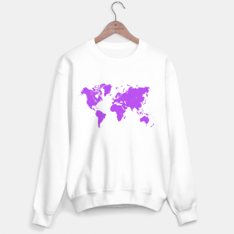 Miniaturka  violet map of the world Bluza standard, Live Heroes