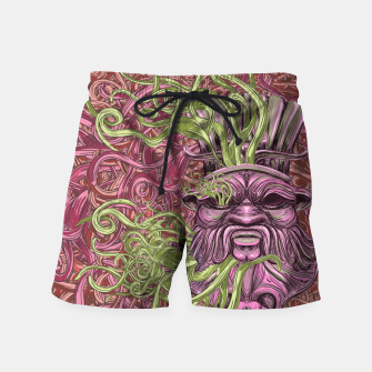 Thumbnail image of Bes Under Water Swim Shorts, Live Heroes
