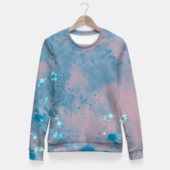 Thumbnail image of Blues and Pinks Fitted Waist Sweater, Live Heroes