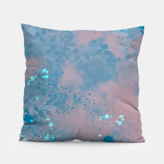 Thumbnail image of Blues and Pinks Pillow, Live Heroes