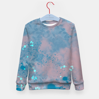 Thumbnail image of Blues and Pinks Kid's Sweater, Live Heroes