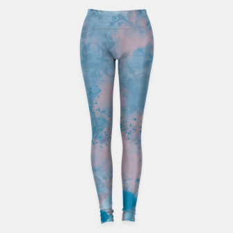 Thumbnail image of Blues and Pinks Leggings, Live Heroes