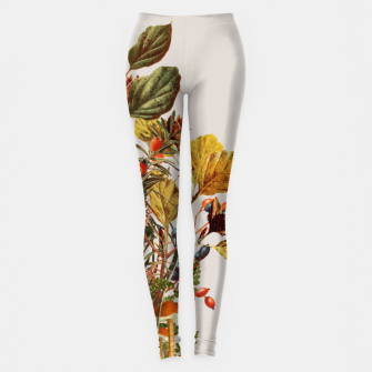 Camo Chihuahua Forest Adventure Leggings Bild der Miniatur