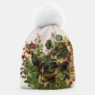 Camo Chihuahua Forest Adventure Beanie miniature