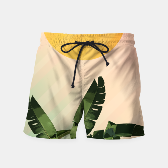 Thumbnail image of Sunny heliconia Swim Shorts, Live Heroes