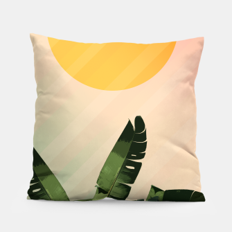 Thumbnail image of Sunny heliconia Pillow, Live Heroes