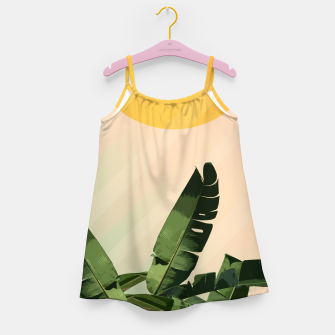 Thumbnail image of Sunny heliconia Girl's Dress, Live Heroes