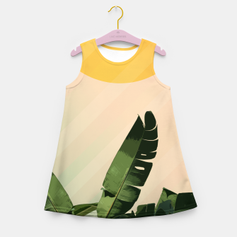 Thumbnail image of Sunny heliconia Girl's Summer Dress, Live Heroes