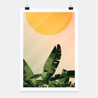 Thumbnail image of Sunny heliconia Poster, Live Heroes