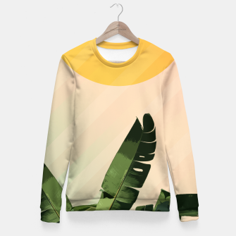 Thumbnail image of Sunny heliconia Fitted Waist Sweater, Live Heroes