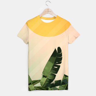 Thumbnail image of Sunny heliconia T-shirt, Live Heroes