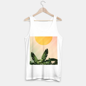 Thumbnail image of Sunny heliconia Tank Top regular, Live Heroes