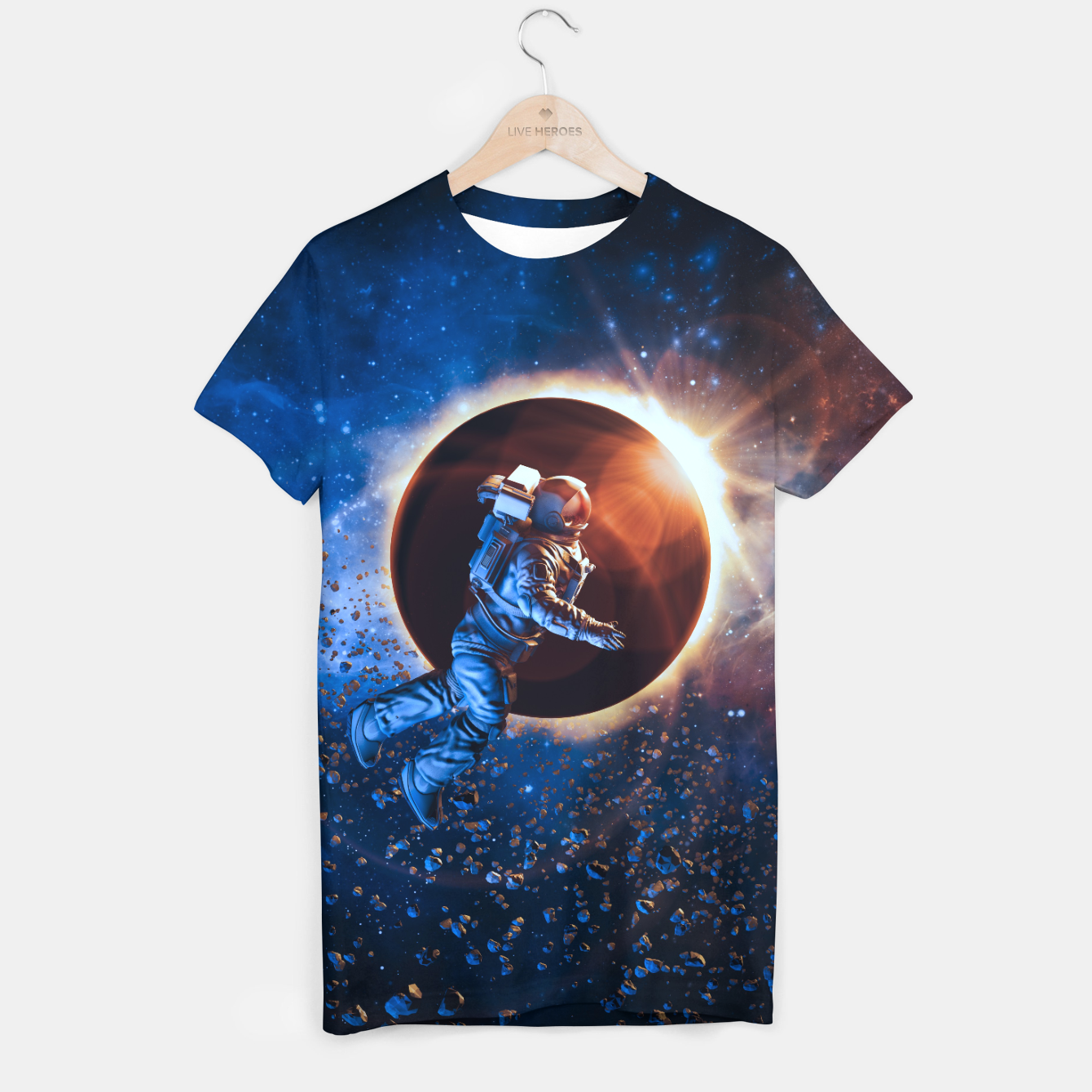 Image of Eclipse T-shirt - Live Heroes