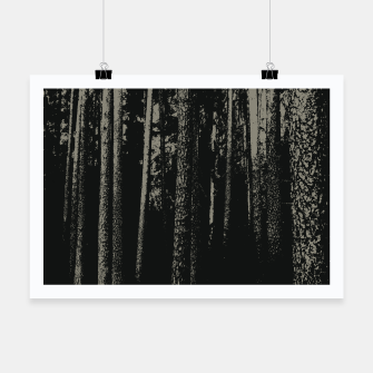 Thumbnail image of Dark woods Poster, Live Heroes