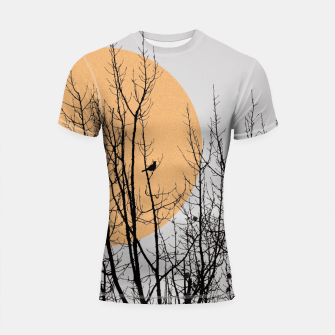 Miniature de image de Birds and tree silhouette 1 Shortsleeve Rashguard, Live Heroes