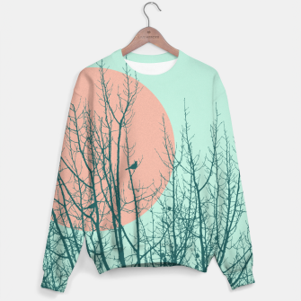 Miniaturka Birds and tree silhouette 2 Sweater, Live Heroes