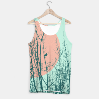 Thumbnail image of Birds and tree silhouette 2 Tank Top, Live Heroes