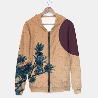Thumbnail image of Pine tree and blue polka dots Hoodie, Live Heroes