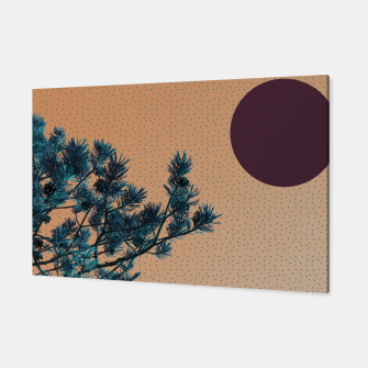 Thumbnail image of Pine tree and blue polka dots Canvas, Live Heroes