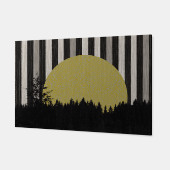 Thumbnail image of Forest and striped sky 1 Canvas, Live Heroes