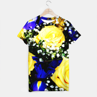 Thumbnail image of Roses Jaunes T-shirt, Live Heroes