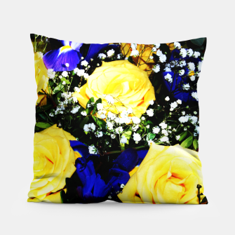 Thumbnail image of Roses Jaunes Coussin, Live Heroes